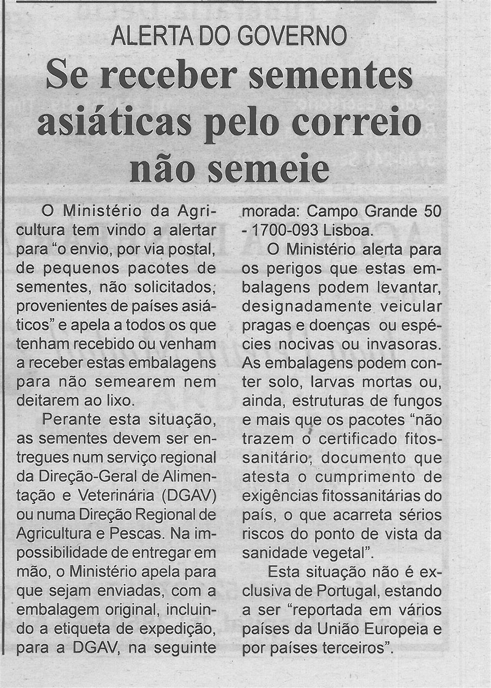BV-2.ªset.'20-p.13-Se receber sementes asiáticas pelo correio não semeie : alerta do Governo.jpg