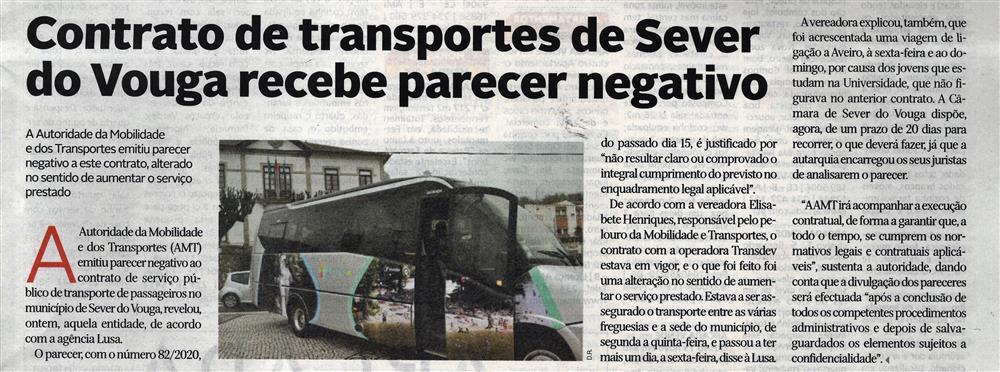 DA-21out.'20-p.'classificados'-Contrato de transportes de Sever do Vouga recebe parecer negativo.jpg