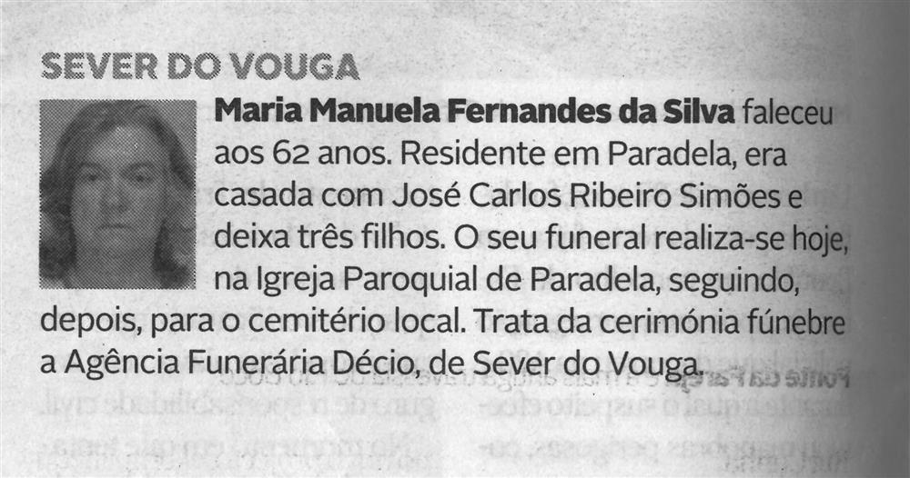 DA-22dez.'20-p.8-Sever do Vouga : Maria Manuela Fernandes da Silva.jpg