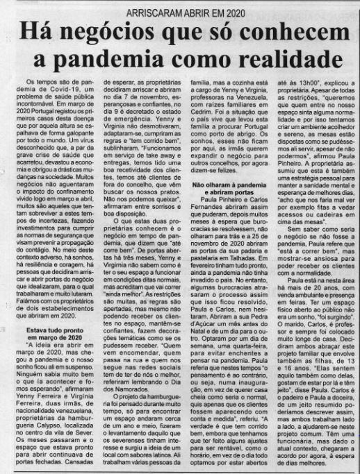 BV-1.ªfev.'21-p.10-Há negócios que só conhecem a pandemia como realidade : arriscaram abrir em 2020.JPG