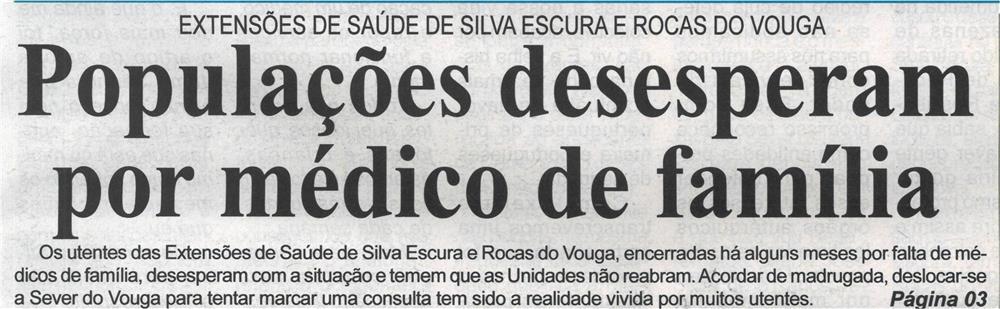 BV-2.ªmaio'21-p.1-Extensões de Saúde de Silva Escura e Rocas do Vouga : populações desesperam por médico de família.jpg