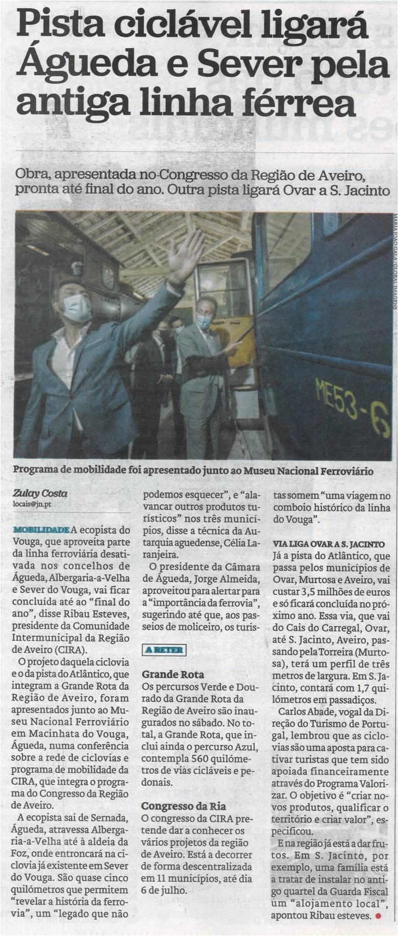 JN-24jun'21-p.26-Pista ciclável ligará Águeda e Sever pela antiga linha férrea.jpg