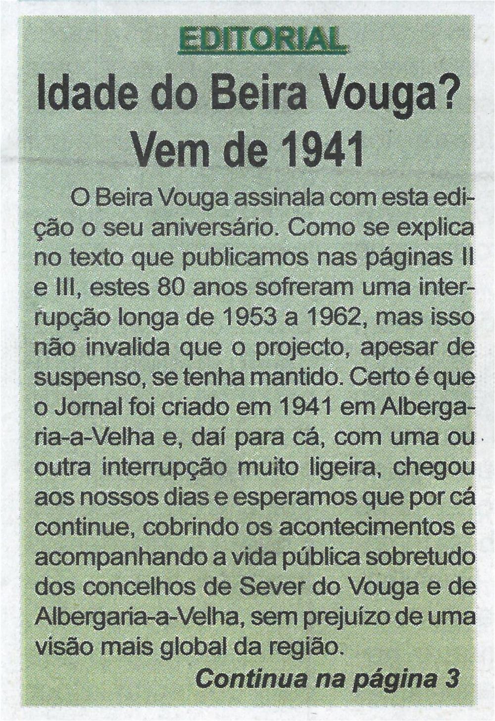 BV-1.ªjul.'21-p.1-Editorial : idade do Beira Vouga? : vem de 1941.jpg