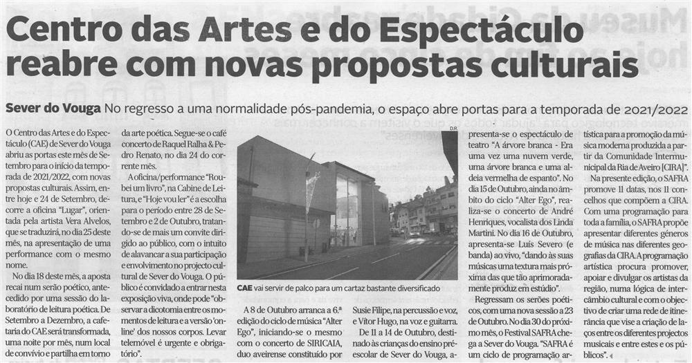 DA-13 set. '21-p. 6-Centro das Artes e do Espetáculo reabre com novas propostas culturais.jpg