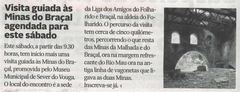 DA-N.º 12190, 23 set. '21-p. 12-Visita guiada às Minas do Braçal agendada para este sábado.jpg