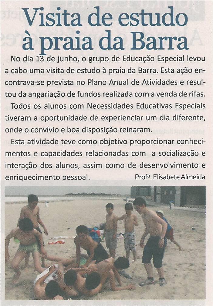 JE-jul13-p3-Visita de estudo à praia da Barra