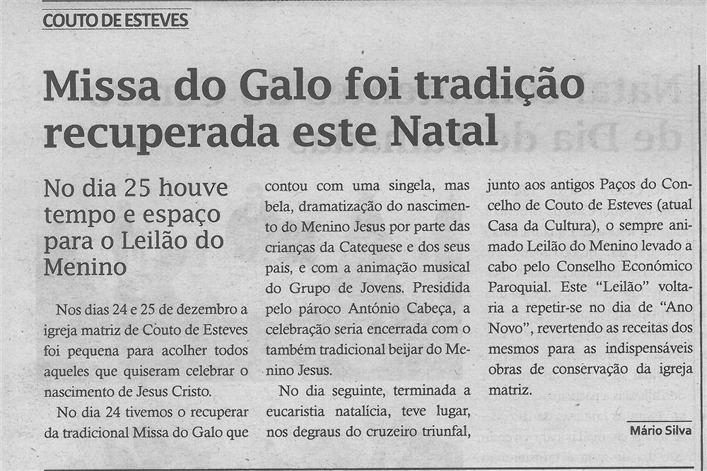 TV-jan.'18-p.12-Missa do Galo foi tradição recuperada este Natal : Couto de Esteves.jpg