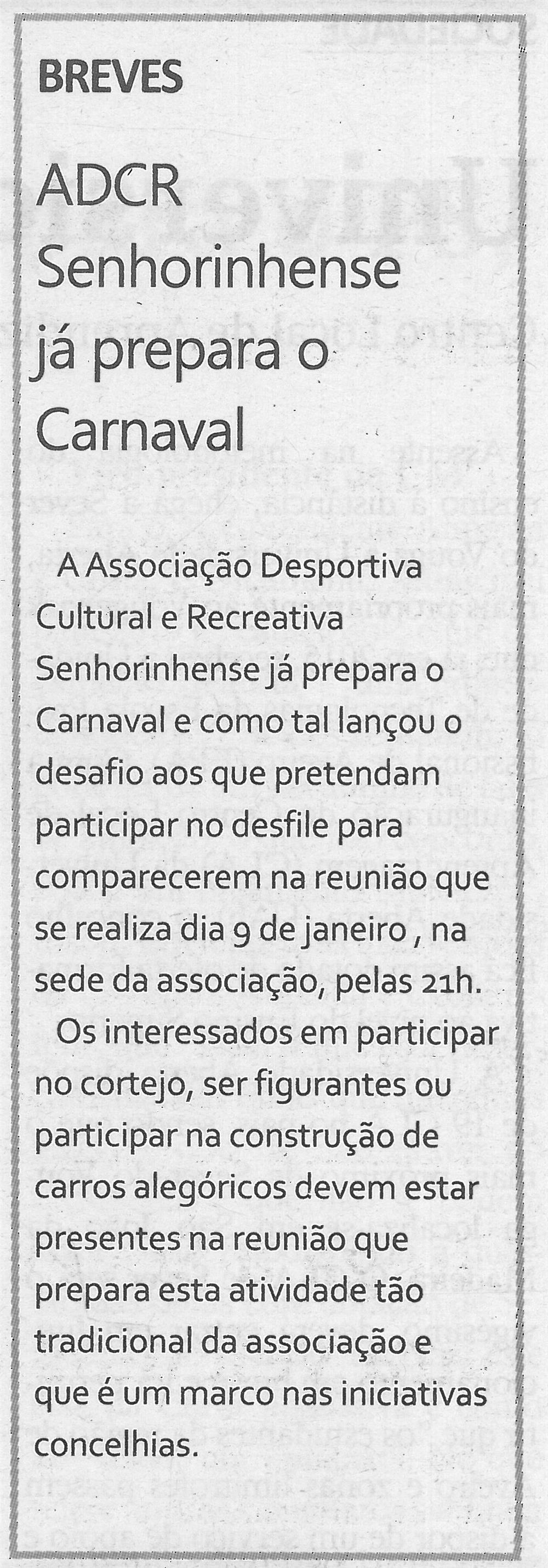 ADCR Senhorinhense já prepara o Carnaval-TV-jan.'19-p.5.jpg