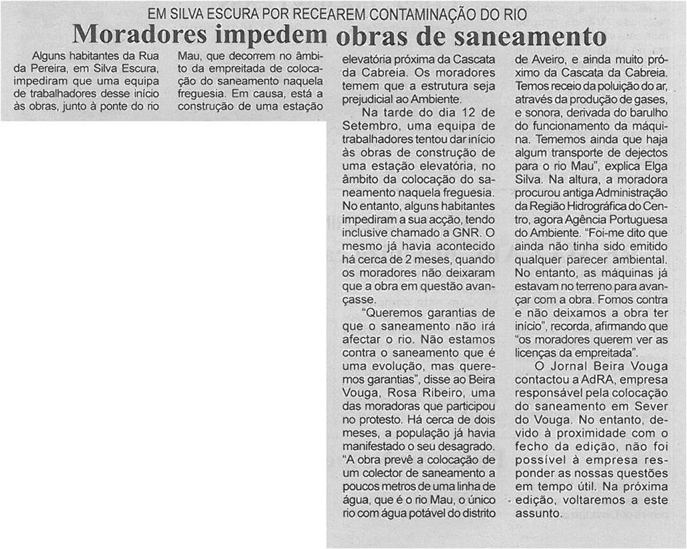 BV-2ªset'14-p6-Moradores impedem obras de saneamento : em Silva Escura por recearem contaminação do rio.jpg