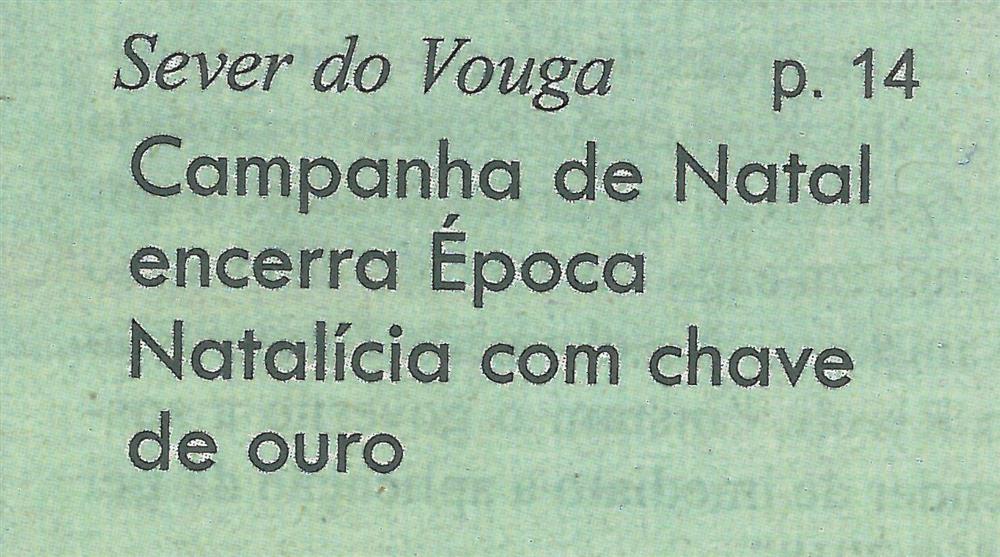 GB-16jan.'20-p.1- Sever do Vouga : Campanha de Natal encerra Época Natalícia com chave de ouro.jpg