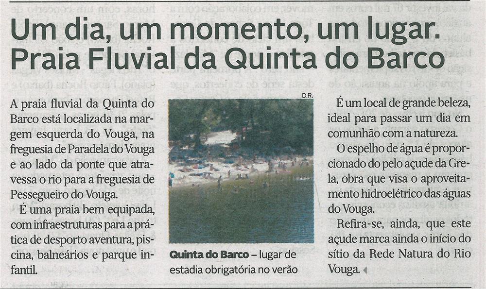 DA-27jul.'17-p.13-Um dia, um momento, um lugar : Praia Fluvial da Quinta do Barco.jpg