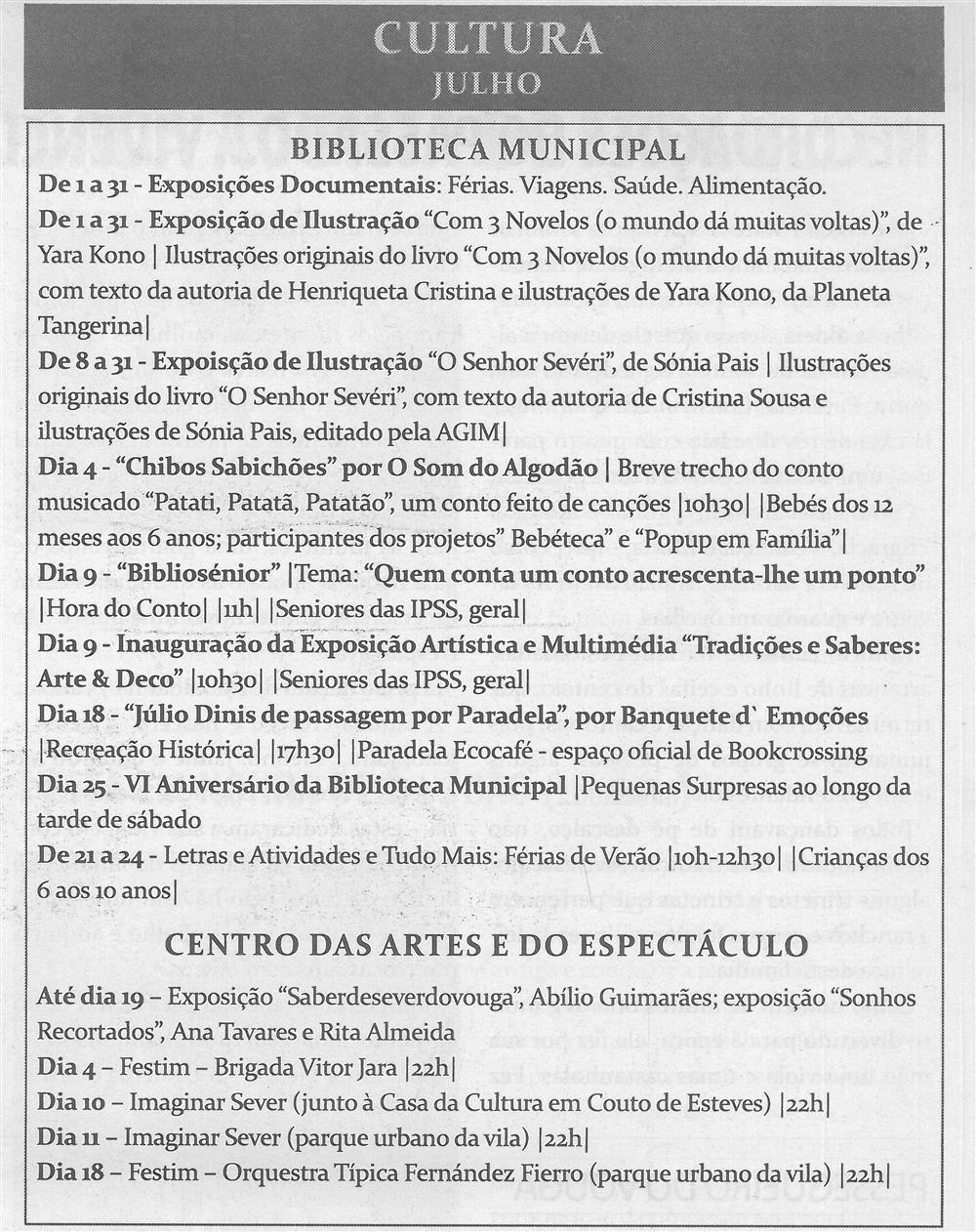 TV-jul.'15-p.14-Cultura : julho : Biblioteca Municipal : Centro das Artes e do Espetáculo.jpg