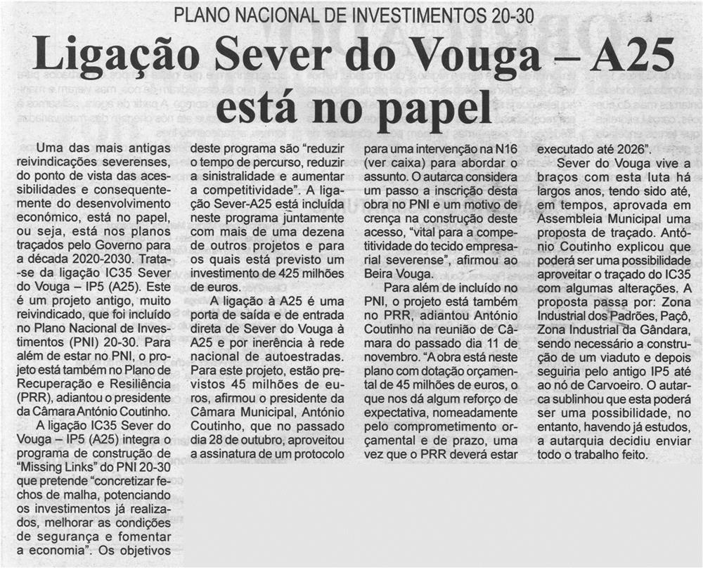 BV-2.ªnov.'20-p.3-Ligação Sever do Vouga - A25 está no papel.jpg
