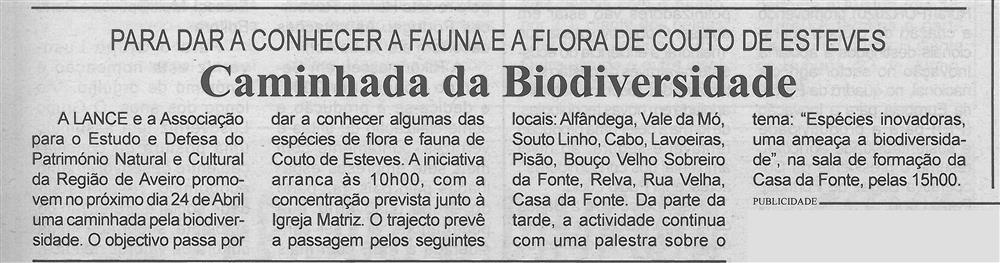 BV-1.ªabr.'16-p.3-Caminhada da Biodiversidade : para dar a conhecer a fauna e a flora de Couto de Esteves.jpg