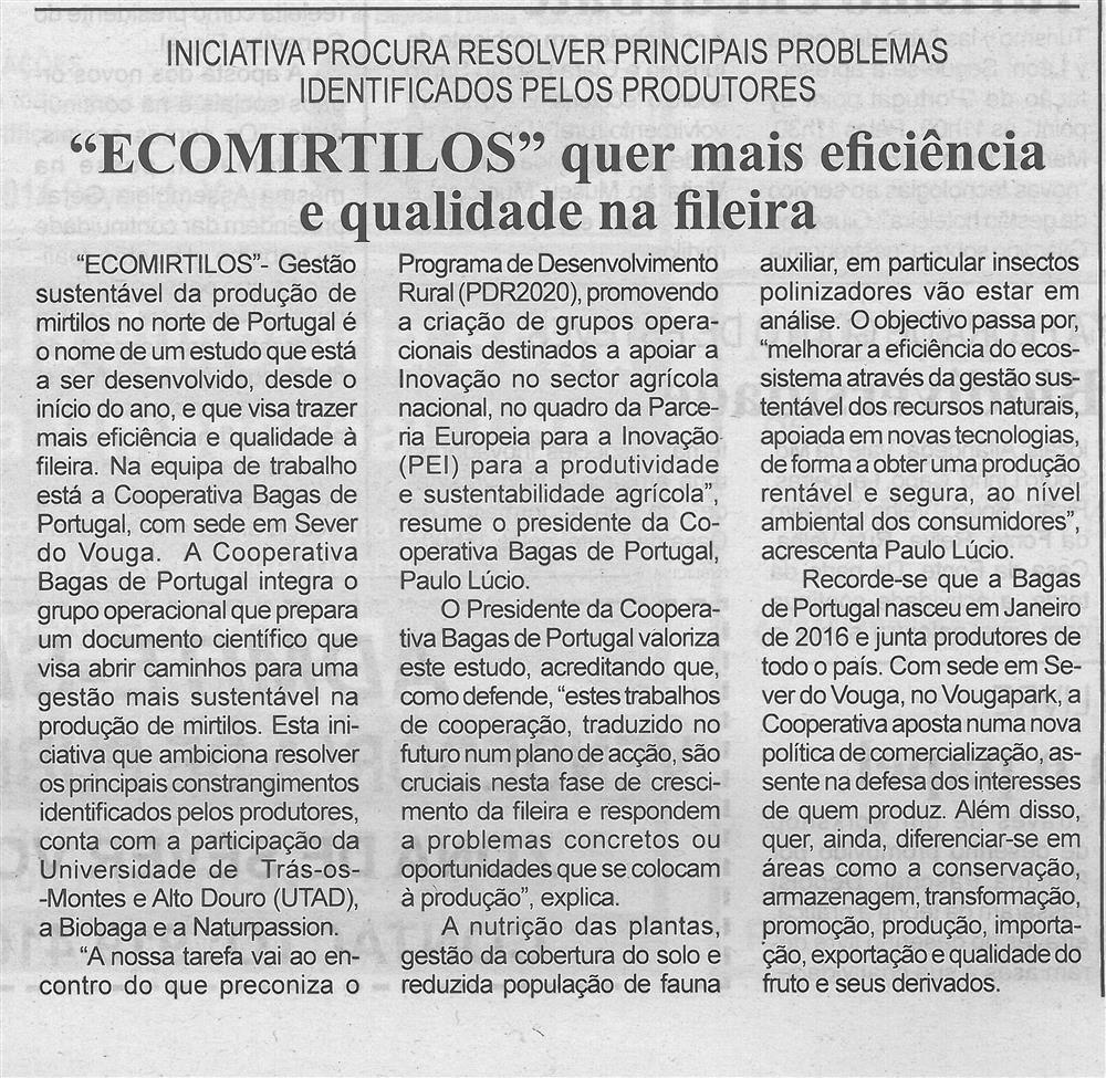 BV-1.ªabr.'16-p.4-Ecomirtilos quer mais eficiência e qualidade na fileira : iniciativa procura resolver principais problemas identificados pelos produtores.jpg
