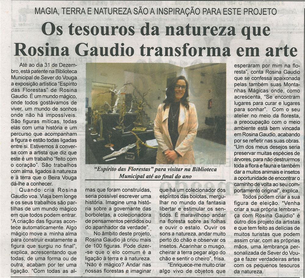 BV-1.ªdez.'19-p.2-Os tesouros da natureza que Rosina Gaudio transforma em arte : magia, terra e natureza são a inspiração para este projeto.jpg