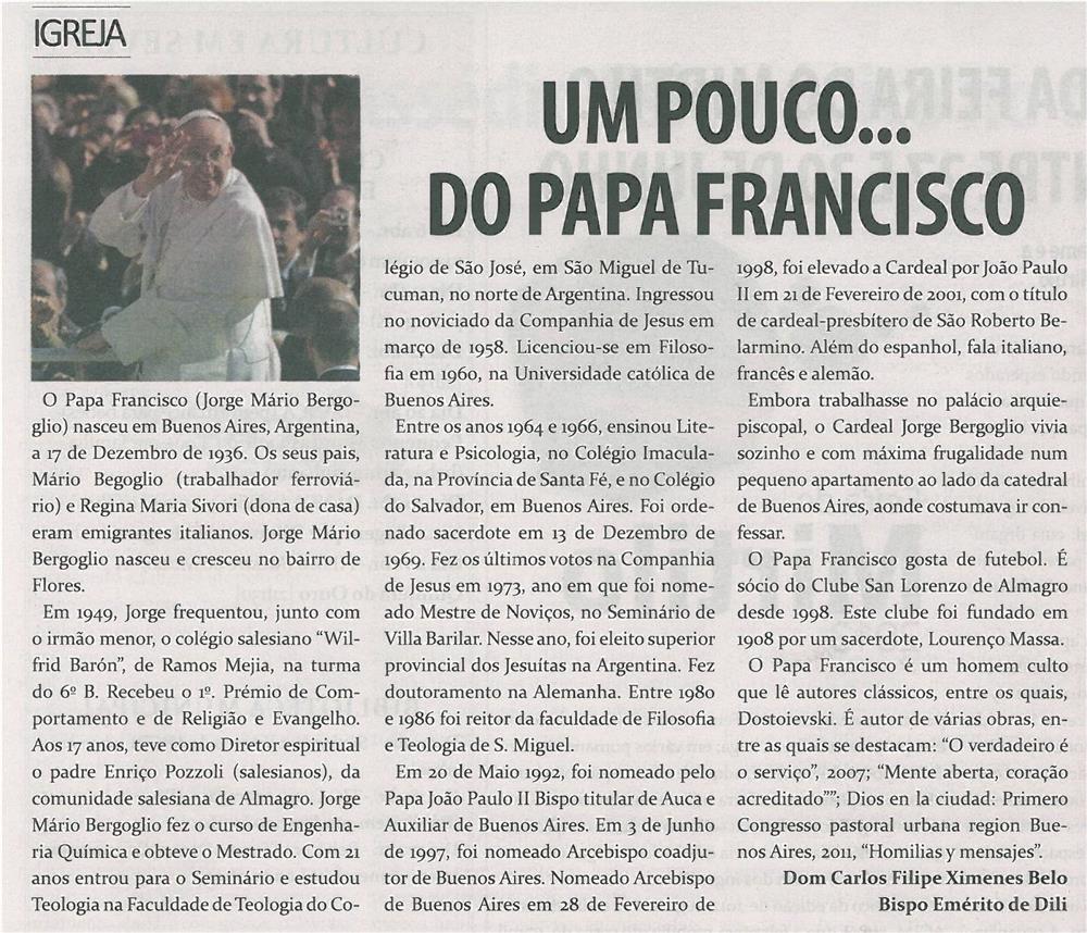 TV-abr13-p20-Um pouco... do Papa Francisco