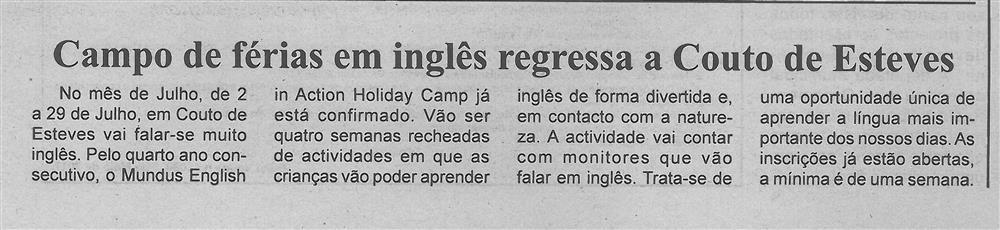 BV-1.ªmaio'17-p.6-Campo de férias em inglês regressa a Couto de Esteves.jpg