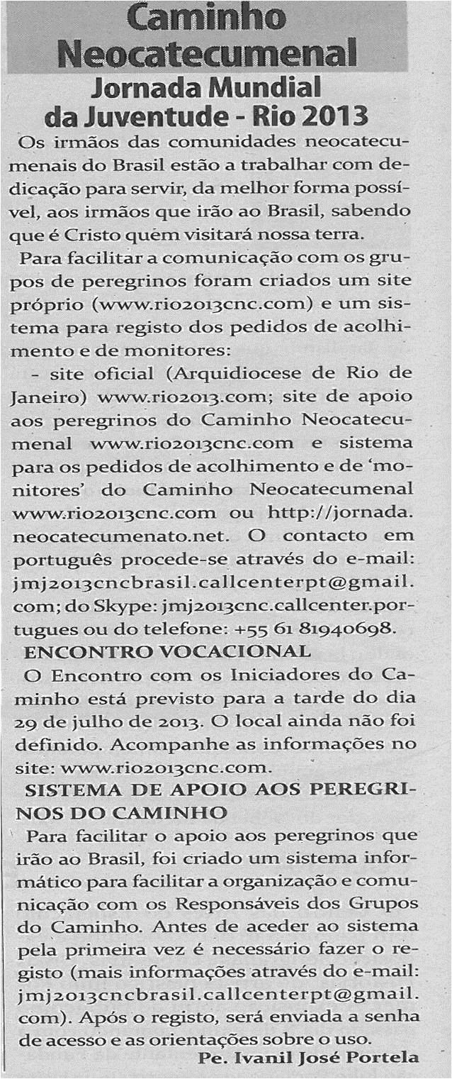 TV-jul13-p16-Jornada Mundial da Juventude
