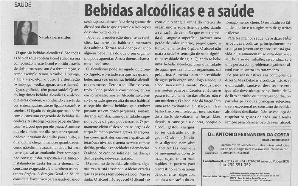 TV-jul13-p18-Bebidas alcoólicas e a saúde