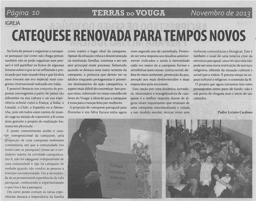 TV-nov13-p10-Catequese renovada para tempos novos