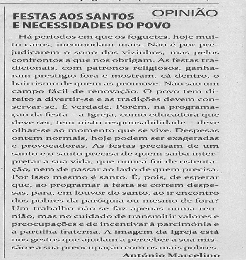 TV-fev13-p8-Festas aos Santos e necessidades do povo