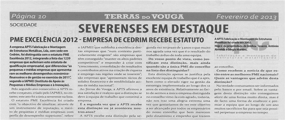 TV-fev13-p10-Severenses em destaque