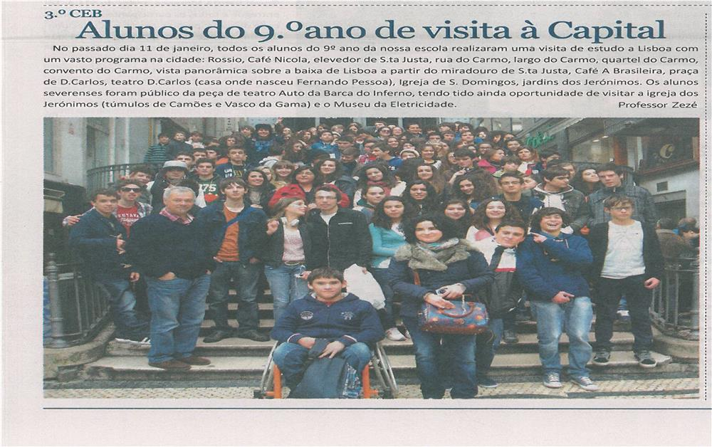 JE-fev13-p2-Alunos do 9º ano de visita à Capital