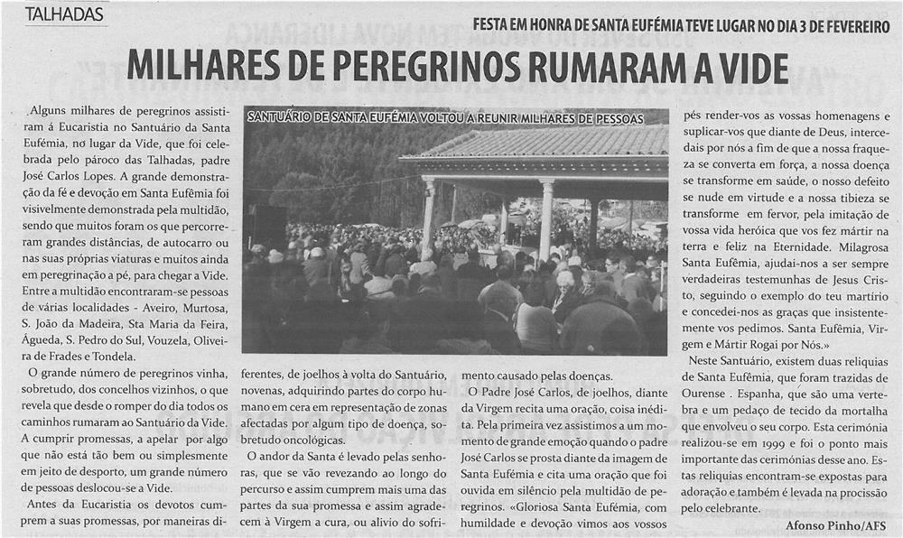 TV-mar13-p6-Milhares de peregrinos rumaram a Vide