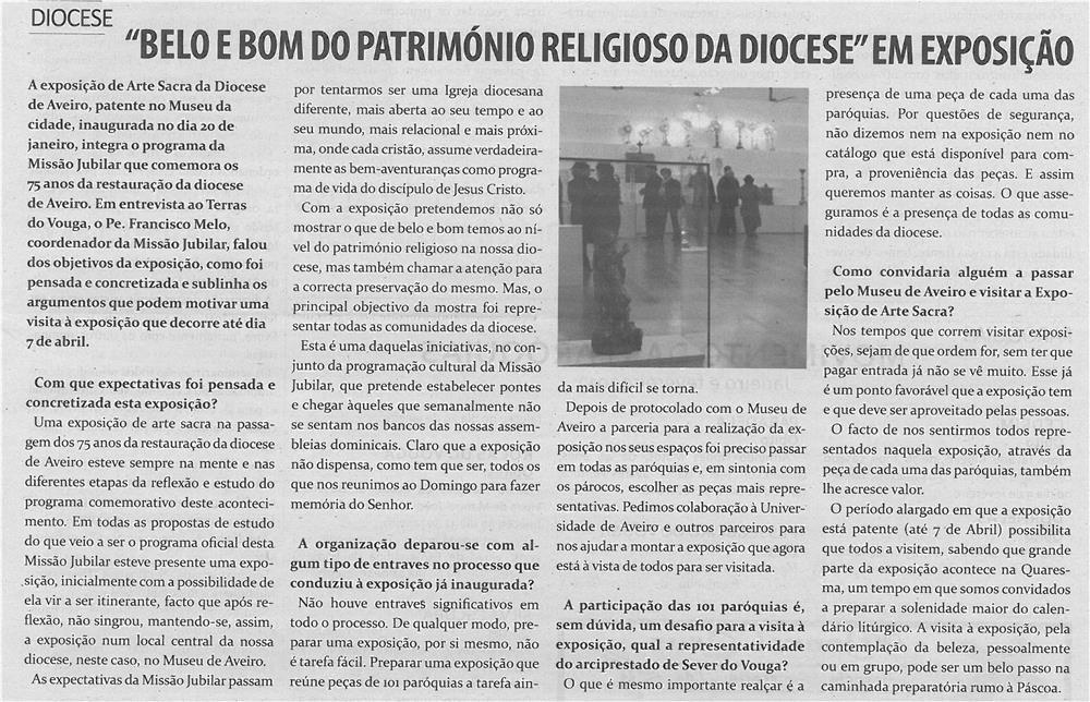TV-mar13-p15-Belo e bom do património religioso da diocese em exposição