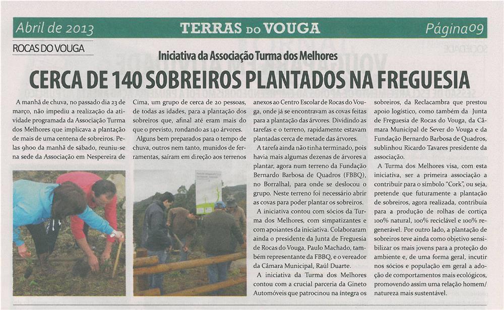 TV-abr13-p9-Cerca de 140 sobreiros plantados na freguesia