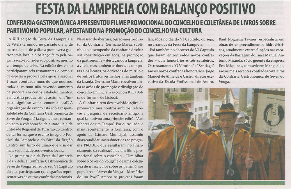 TV-abr13-p9-Festa da Lampreia com balanço positivo