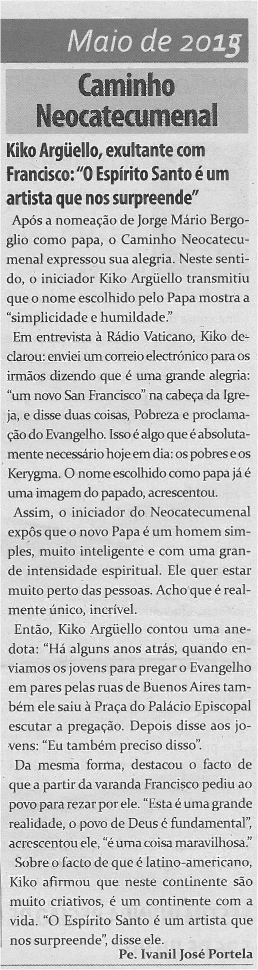 TV-maio13-p16-Caminho Neocatecumenal