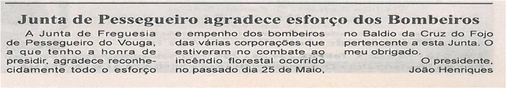 BV-1ªjun13-p2-Junta de Pessegueiro agradece esforço dos Bombeiros