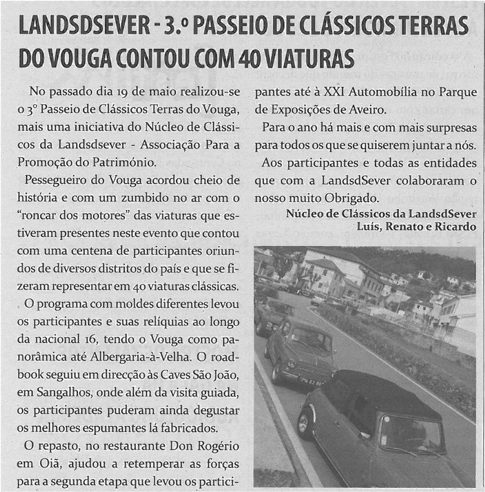 TV-jun13-p18-Landsdsever _ 3.º Passeio de Clássicos Terras do Vouga contou com 40 viaturas
