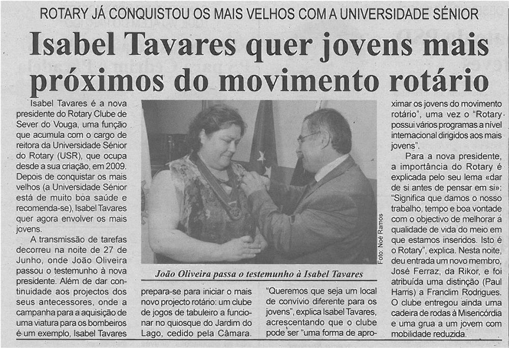 BV-1ªjul'13-p5-Isabel Tavares quer jovens mais próximos do movimento rotário