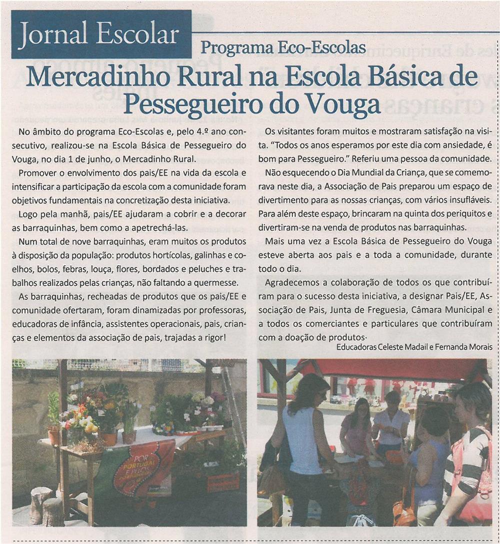 JE-jul13-p6-Mercadinho Rural na Escola Básica de Pessegueiro do Vouga_Programa Eco-Escolas