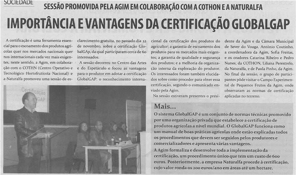 TV-dez13-p7-Importância e vantagens da certificação GLOBALGAP