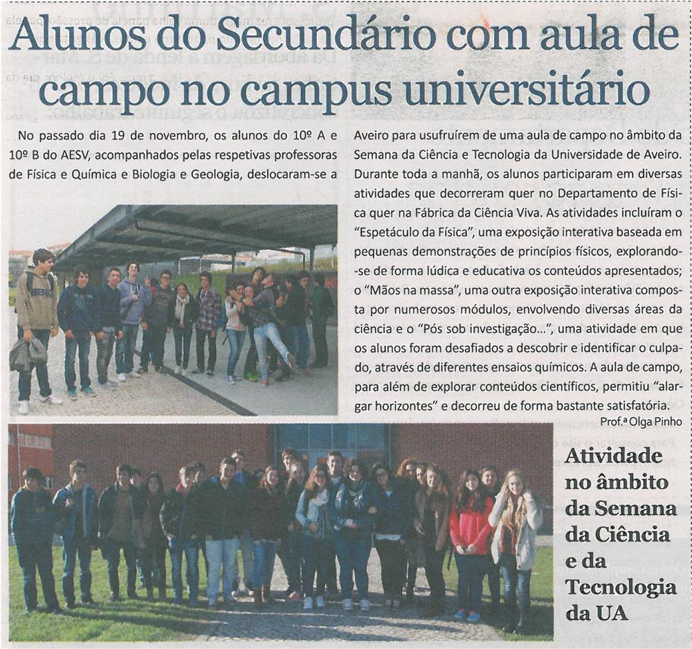 JE-dez13-p3-Alunos do secundário com aula de campo no campus universitário