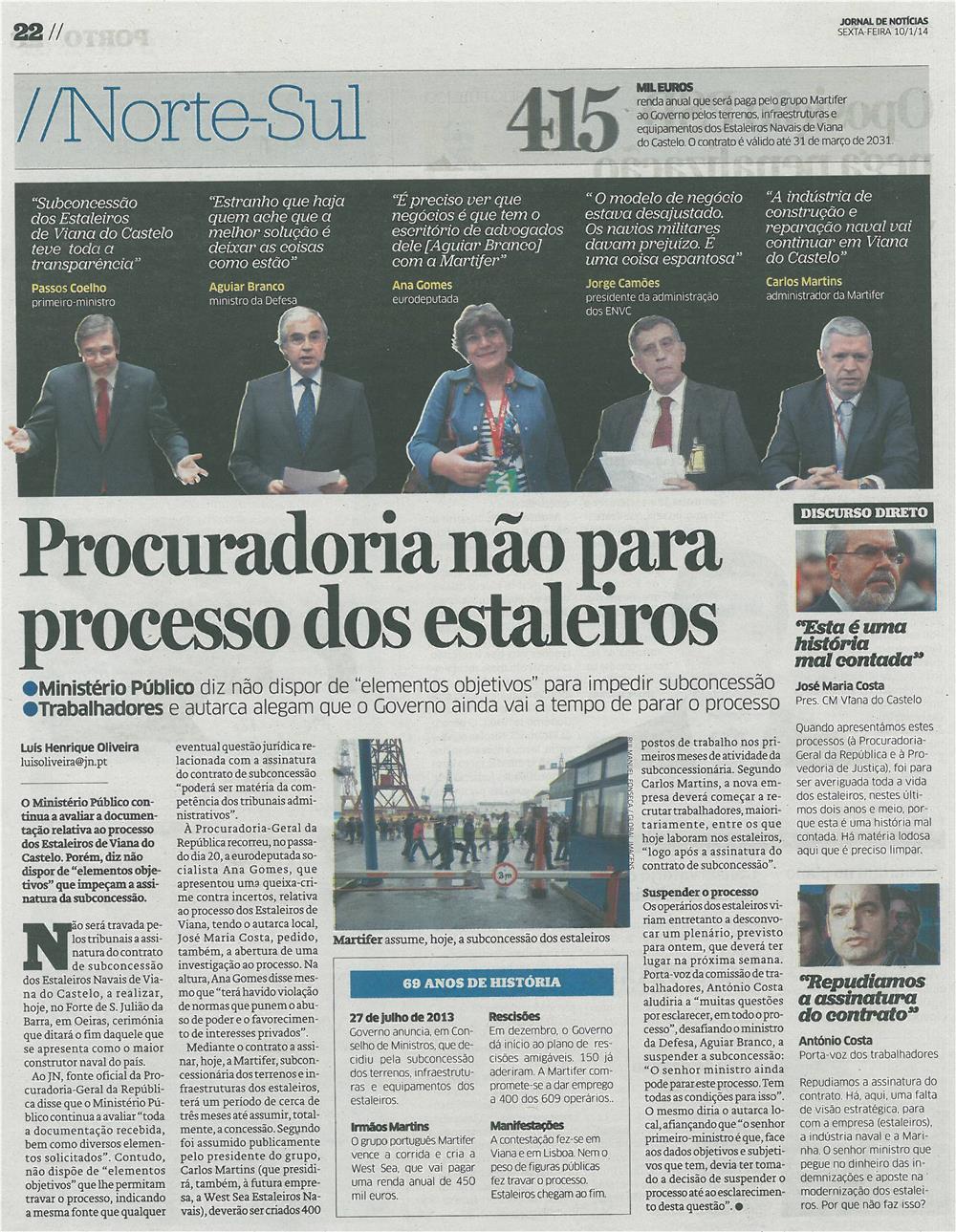 JN-10jan14-p22-Procuradoria não para processo dos Estaleiros