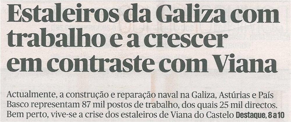 Público-5jan14-p1-Estaleiros da Galiza com trabalho e a crescer em contraste com Viana