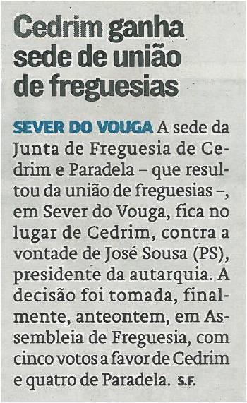 JN-06jan14-p22-Cedrim ganha sede de união de freguesias