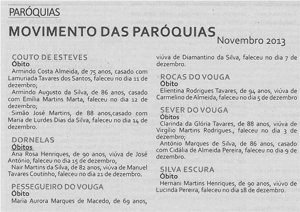 TV-jan14-p16-Movimento das paróquias - novembro 2013