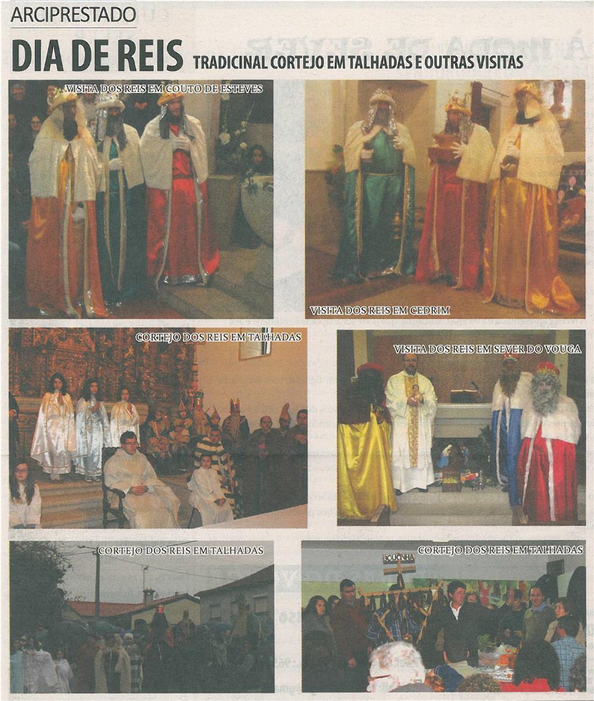 TV-fev14-p20-Dia de Reis : tradicional cortejo em Talhadas e outras visitas : Arciprestado
