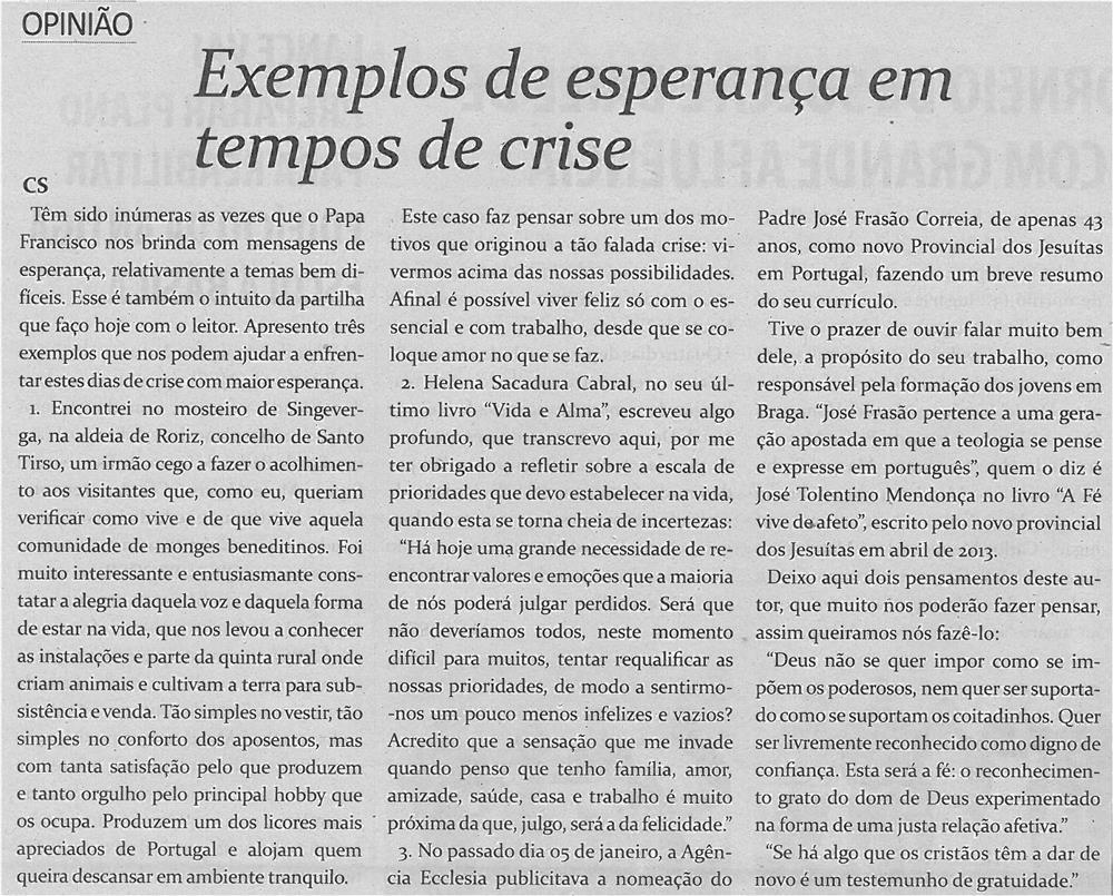 TV-fev14-p14-Exemplos de esperança em tempos de crise
