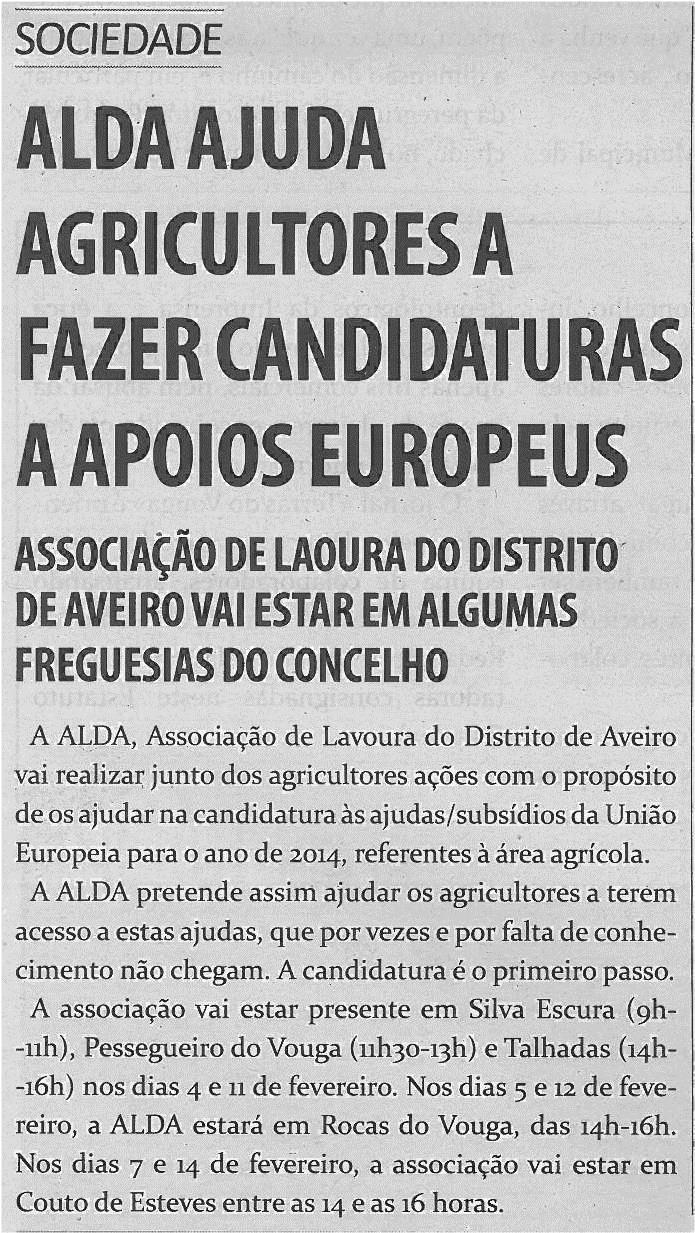 TV-fev14-p3-ALDA ajuda agricultores a fazer candidaturas a apoios europeus