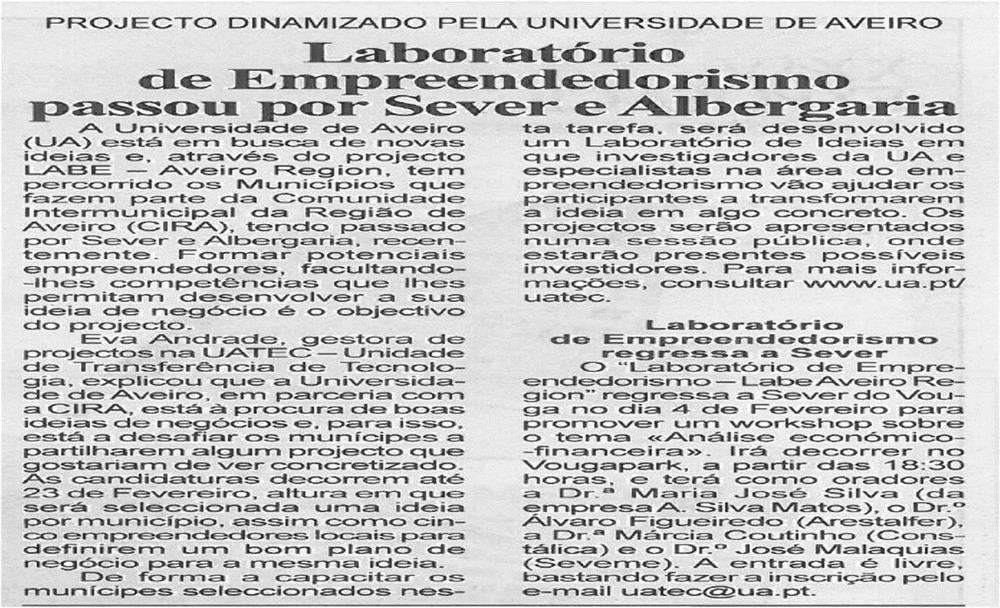 BV-1ªfev'14-p7-Laboratório de Empreendedorismo passou por Sever e Albergaria