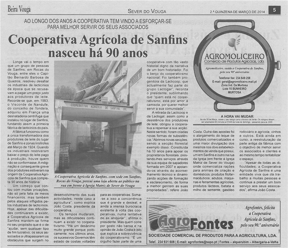 BV-2ªmar'14-p5-Cooperativa Agrícola de Sanfins nasceu há 90 anos