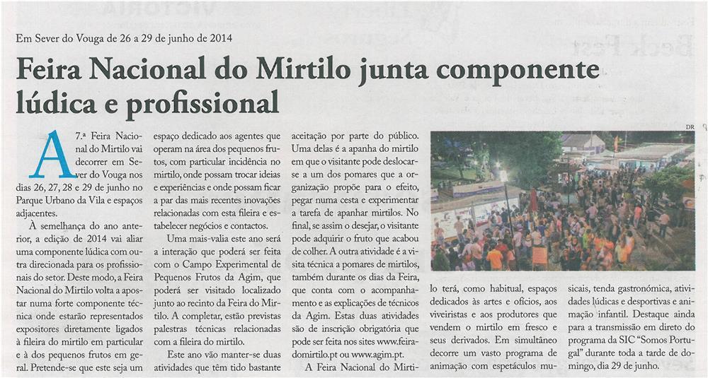JPEG: EV-maio'14-p8-Feira Nacional do Mirtilo junta componente lúdica e profissional : em Sever do Vouga de 26 a 29 de junho de 2014