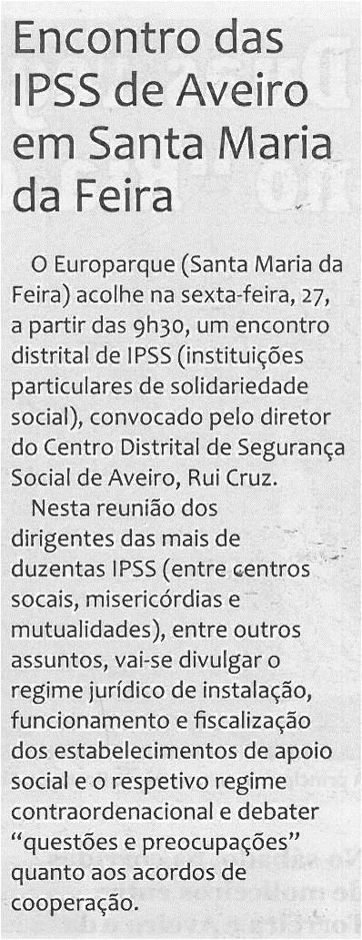 CV-25jun'14-p7-Encontro das IPSS de Aveiro em Santa Maria da Feira